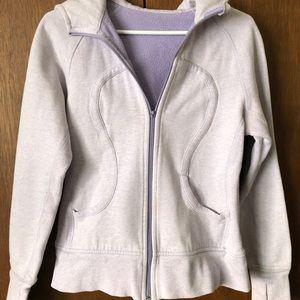 Lululemon Jacket lilac/grey Size 6-8